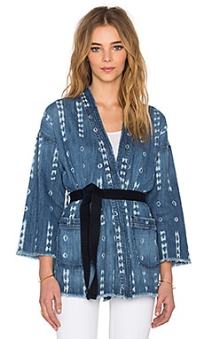 Current/Elliott The Kimono Jacket in Kyoto Print