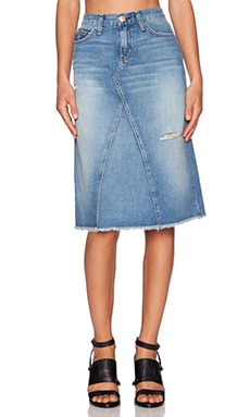 Current/Elliott The Midi Skirt in Never Ending