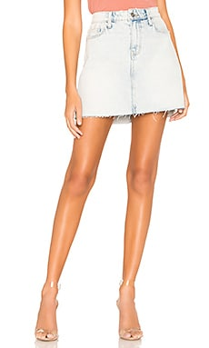 The 5 Pocket Mini Skirt Current/Elliott $50
