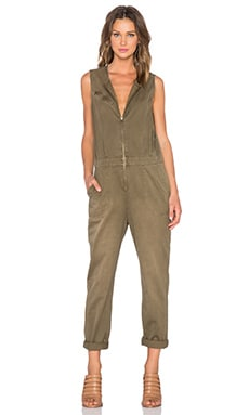 Current/Elliott The Flight Suit in Army Green