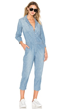 Current/Elliott The Canal Jumpsuit in Lucky Horse