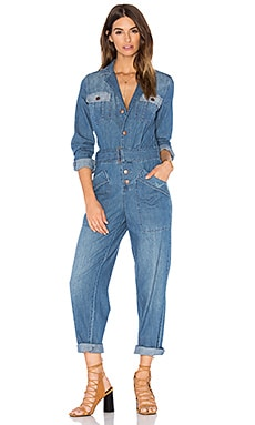 Current/Elliott The Whitney Jumpsuit in Ashore