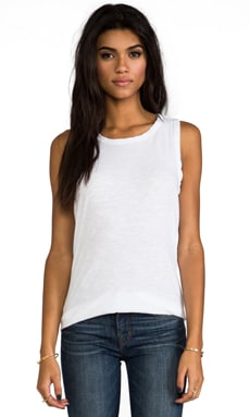 Current/Elliott The Muscle Tee in Sugar