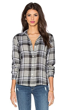 Current/Elliott The Slim Boy Button Up in Sugar Siesta Plaid