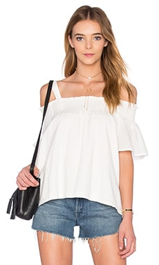 Current/Elliott The Madeline Top in Sugar