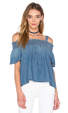 Current/Elliott The Madeline Top in Davis