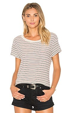 Current/Elliott The Crew Neck Tee in Horizon Mitzi Stripe