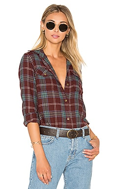 Current/Elliott The Perfect Button Up in Lincoln Plaid