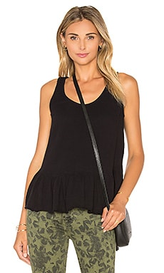 Current/Elliott The Ballet Tank in Washed Black