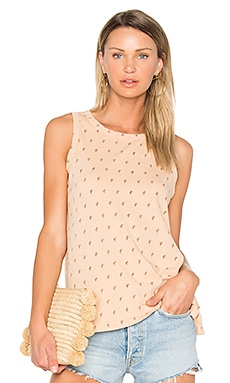The Muscle Tee in Toasted Nut Cactus