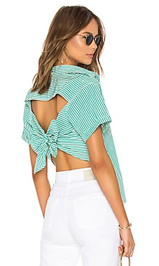 The Tie Back Telly Top Current/Elliott $198