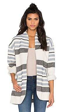 Jasmina Wrap Jacket en Whisper White