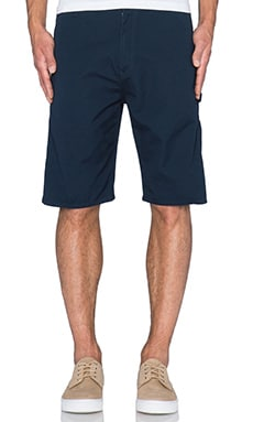 Carhartt WIP Single Knee Short II in Duke Blue