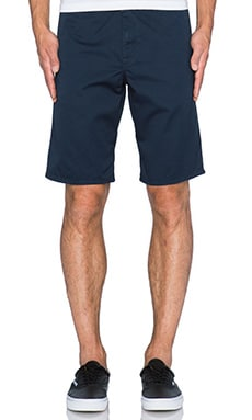 Carhartt WIP Club Short in Duke Blue/Black