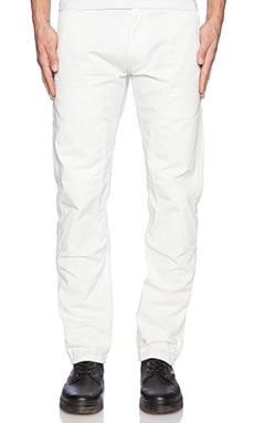 Carhartt WIP Lincoln Double Knee Pant in White