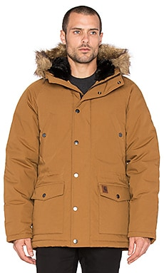 Carhartt WIP Trapper Parka in Hamilton Brown