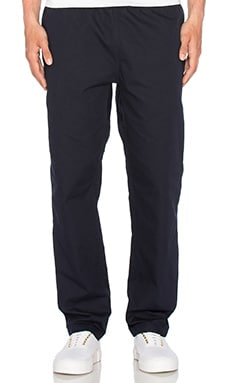 Colton Clip Pant in Dark Navy & Arrow Jacquard
