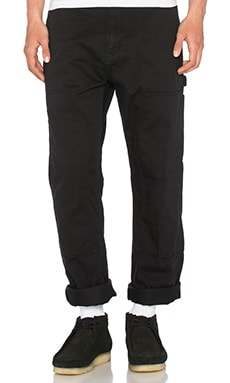 Carhartt WIP Ruck Double Knee Pant in Black