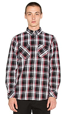 Carhartt WIP Reynolds Button Up in Black