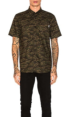 Camo Tiger Button Down