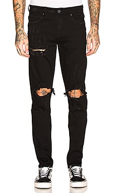 Pacific Ripped Jean Crysp Denim $44