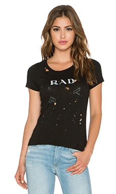 Daftbird P Rad A Tee in Black
