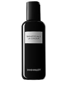 Shampoo No. 3 La Couleur David Mallett $45