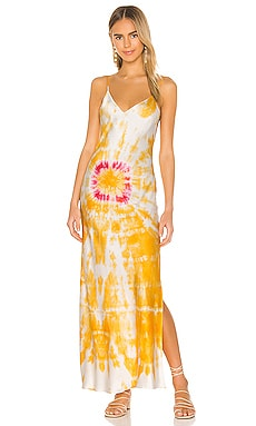 Bullseye Dyed Slip Dress DANNIJO $285