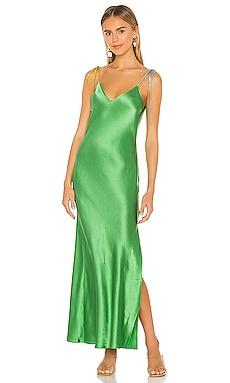 Tie Strap Long Slip Dress DANNIJO $315