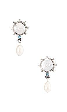 Rosita Blue Dangle Earrings DANNIJO $245