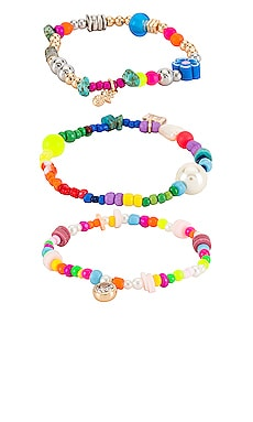 Hyeres Bracelet Set DANNIJO $170 NEW