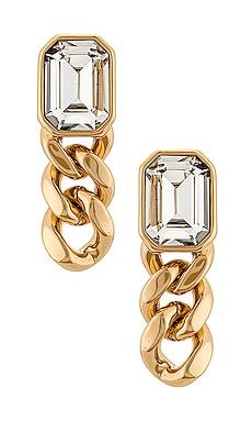 Krome Drop Earrings DANNIJO $150 BEST SELLER