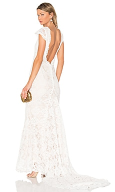 x REVOLVE Liv Gown in White