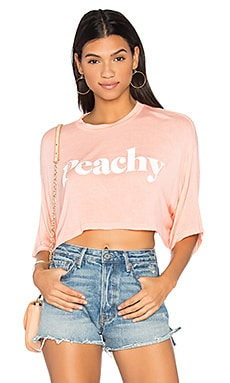 Sleepy Pamela Peachy Tee