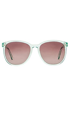 D'Blanc Afternoon Delight Sunglasses in Kiwi Mint Gloss & Gradient