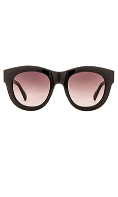 D'Blanc Psychedelic Solution Sunglasses in Black Tort & Gradient