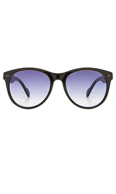 D'Blanc High Road Sunglasses in Black Crystal Gloss & Gradient
