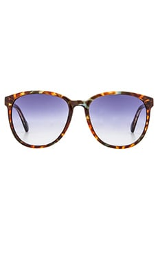D'Blanc Afternoon Delight Sunglasses in Indigo Tort Gloss & Gradient