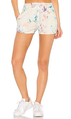X REVOLVE Spring Bubble Tie Dye Sweat Shorts DAYDREAMER $61