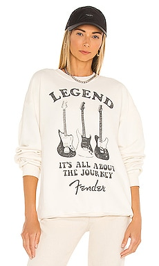 Fender Legend Oversized Crew Sweatshirt DAYDREAMER $120