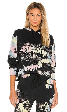 x REVOLVE Color Pop Tie Dye Shrunken Hoodie DAYDREAMER $97