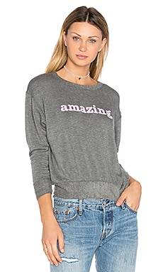 Amazing Sweatshirt in Charcoal