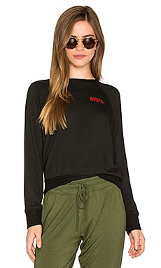 Ziggy Pocket Sweatshirt in Black