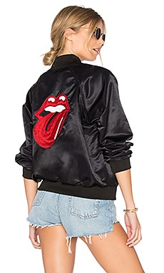 Rolling Stones Bomber in Black
