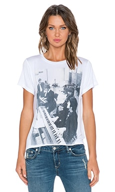 DAYDREAMER Beatles Tee in White