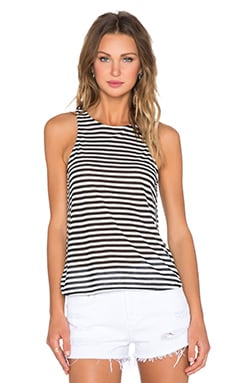 DAYDREAMER Fashion Tank in Stripe