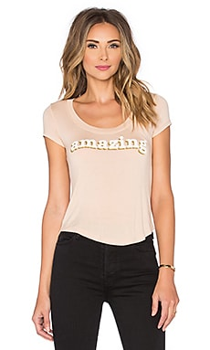DAYDREAMER Amazing Tee in Toasted Almond