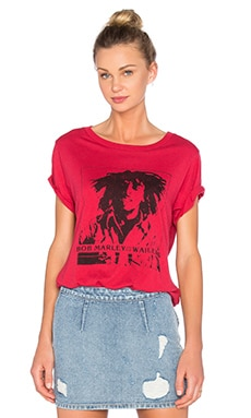 Vintage Marley Tee in Red