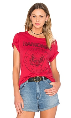 Wanna Dance Tee in Red