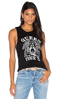 DAYDREAMER Queen Tour 75 Tank in Black